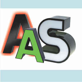 3D Buchstaben