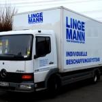 Lkw der Fa. Lingemann